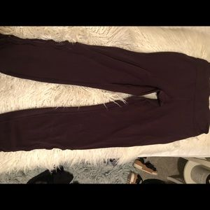plum lululemon leggings